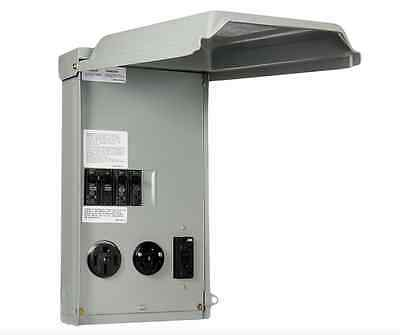 100-amp 3-spacecircuit 120240-volt Unmetered Rv Outlet Power-box 503020 Gfci