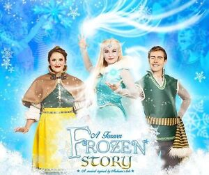 A FOREVER FROZEN STORY! (4 TICKETS!)