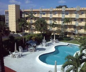 Hollywood Beach Florida 2 Bedroom condo for rent $1400 per month