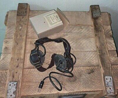 Dp-5 Headphone Ussr Radiation Tester Geiger Detector Dosimeter Military Headset