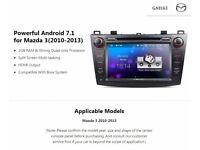 """Eonon GA8163 Mazda 3 2010-2013 Double DIN 8"""" Android 7.1 1080P Video Head Unit HDMI Radio GPS Audio"""