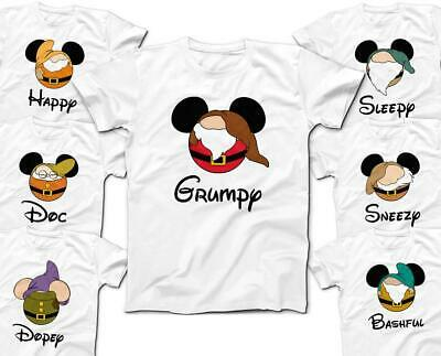 T Shirt Halloween Costumes Ideas (7 Dwarfs Group Costume Halloween Ideas Unisex T-Shirt Tee Brand)