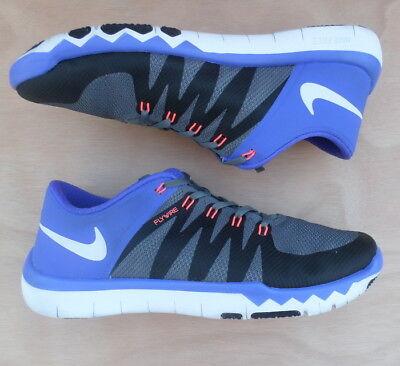 fb8ea5ccf9ec5 Nike Free 5.0 V6 Trainer Men s Size 13 Violet Dark Gray White Black 719922 -015