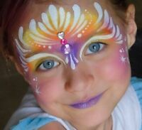 Professional face painting and party entertainment