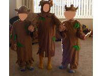 Fancy Dress Kids Stick Man Costume
