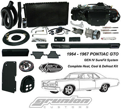 Vintage Air 1964-67 Pontiac GTO w/o AC Air Conditioning Heat Defrost Kit 961067