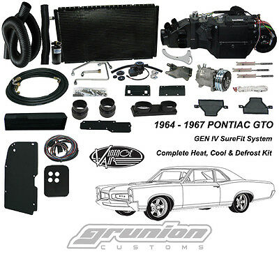 Vintage Air 1964-67 Pontiac GTO w/AC Air Conditioning Heat Defrost Kit 964467