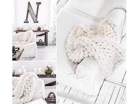 Stunning Handmade 100% Merino Wool Blankets