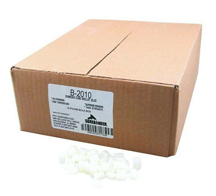 Surebonder Skillet Hot Glue Cube Pellets 10 lb (B-2010)