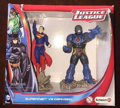 Schleich Superman Vs Darkseid DC Justice League Action Figure, MIB (B21) segunda mano  Embacar hacia Argentina