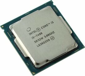 New i5-7400 CPU Processor intel