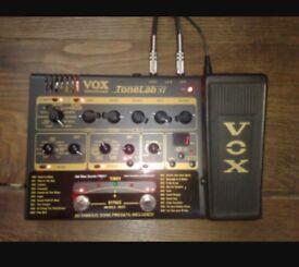 VOX PEDAL Tonelab ST BARGAIN £45