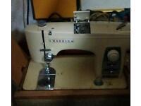 Original vintage Harris sewing machine