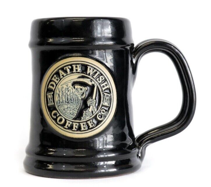2017 Death Wish Coffe Co Halloween Mug - The Harvester of Souls