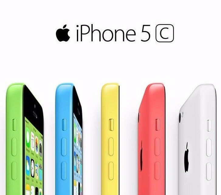 USED APPLE IPHONE 5C - 8GB - VARIOUS COLOURS (UNLOCKED) SMARTPHONE