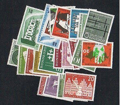 Bund Jahrgang 1956 komplett postfrisch
