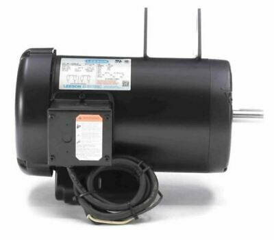 Leeson 4 Hp 3450 Rpm Delta Replacement Unisaw Woodworking Electric Motor 230v
