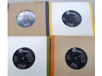 THE FOUR SEASONS ON STATESIDE. FOUR SINGLES IN VG- CONDITION. £3.00 FOR ALL FOUR.