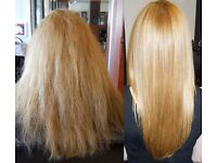 Brazilian keratin treatment at your comfort of your home