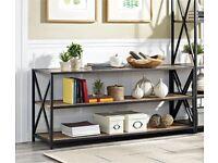 Bookcase Media TV Cabinet