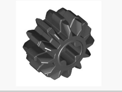 Lot of 25 4568644/_LEGO Tyre Normal Wide Ø21 X 12 87697 /_Black