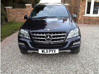 2011 Mercedes Benz ML350 GRAND EDITION CDI BLue efficiency 7G automatic