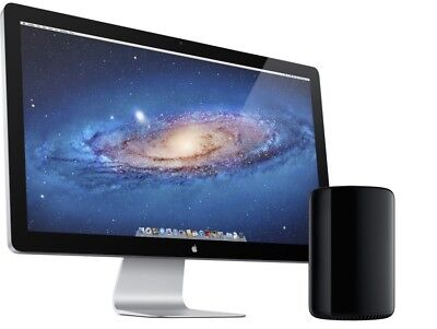 "Apple Thunderbolt Display A1407 27""  Widescreen LED Monitor, Builtin Speakers"