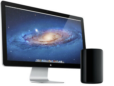 "Apple Thunderbolt Display A1407 27""  Widescreen LED Monitor, built-in Speakers"