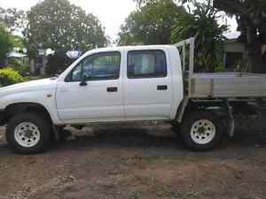 97 Dual Cab hilux Collinsville Whitsundays Area Preview