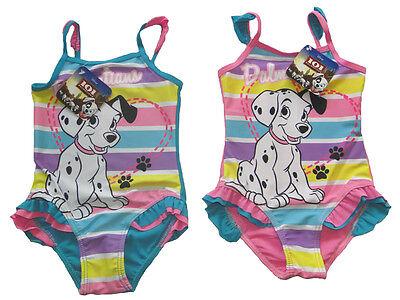 Mädchen Badeanzug 101 Dalmatiner Hunde Kinder Bademode Bikini Hund Tiere baden - Mädchen Badeanzug Baden