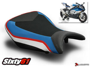 BMW S1000RR Seat Cover 2015 2016 2017 2018 Blue Red Black White Technik Luimoto
