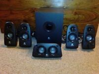 Used Logitech Z506 Surround Sound Speakers ***in very good condition***!!!