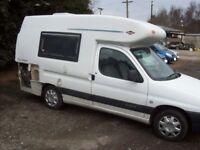 CITROEN BERLINGO ROMAHOME DUO OUTLOOK UNFINISHED PROJECT