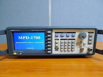 CREDIX MPD-1700 ISDB-T RF Signal Generator