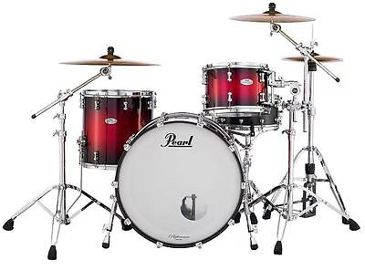Pearl Reference Pure Drum Set Scarlet Sparkle 24x14 13x9 16x16 Plus Bags/US (Pearl Drum Bags)