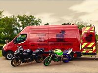 Motorcycle/Motorbike Transport, Collection, Delivery, Recovery, Courier, Bike Pick Up Professional