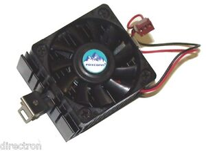 Foxconn AMD Super Socket 7/Celeron PPGA CPU Cooler, Fan with Heatsink, 3-pin,OEM