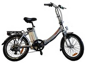 NEW FOLDING ELECTRIC BICYCLE WITH ALLOY FRAME & 36V LIPO BATTERY Seaford Frankston Area Preview