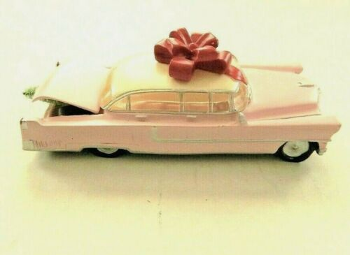 Pink Cadillac Elvis Presley Memorabilia Numbered Christmas Collector Gift Car
