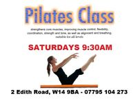 Pilates Class West London