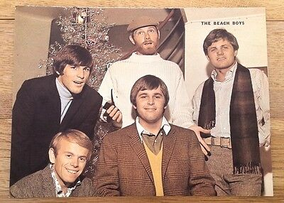 BEACH BOYS 'happy in colour' magazine PHOTO/Poster/clipping 10x8 inches