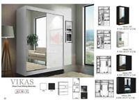 🍒🍒CLEARANCE STOCK MUST GO🍒🍒BRAND NEW VIKAS SLIDING MIRROR WARDROBE🍒🍒AVAILABLE NOW🍒🍒