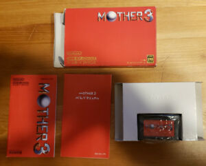 Mother 3 GBA Japanese in box