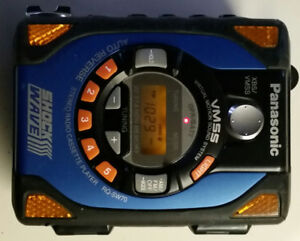 Panasonic Shockwave Portable Cassette player.  RQ-SW70