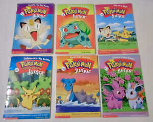 POKEMON JUNIOR CHAPTER BOOKS
