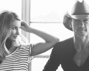 """Soul to Soul Tour """"Tim and Faith"""" Deal 100 level tickets"""