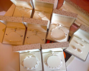 PURE SILVER PLATED BRACELET $25 EACH RETAIL$60-70 GIFTS FOR EVER