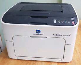 Konica Minolta Magicolor 1600W colour laser printer