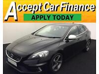 Volvo V40 1.6TD D2 ( 115bhp ) ( s/s ) 2015MY R-Design FROM £62 PER WEEK!