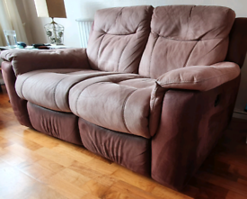 2 x two seater sofa